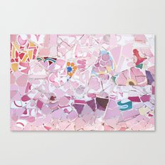 Tiling with pattern 5 Canvas Print
