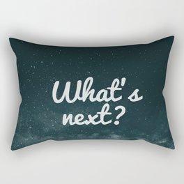 What's next? Rectangular Pillow