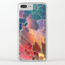 Shattered Prism Clear iPhone Case