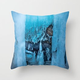 The Ice Palace Throw Pillow