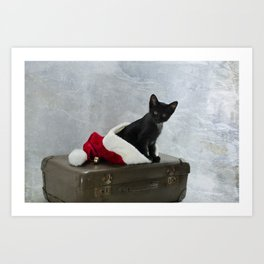 North Pole Bound  Art Print