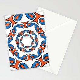 abstract mandala tribal Stationery Cards