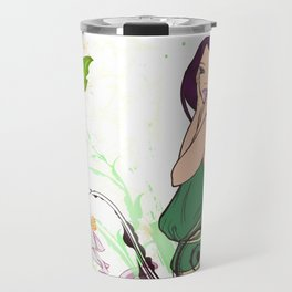 Exotic Lady Garden Travel Mug