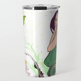 Exotic Lady Garden Travel Mug