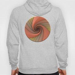 Spiral in Earth Tones Hoody