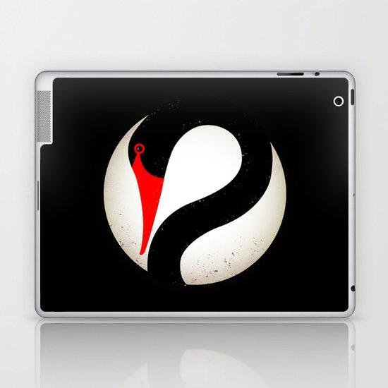 Black Swan Logo Laptop & iPad Skin