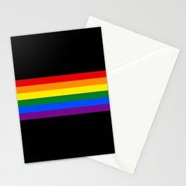 Pride Stripes Stationery Cards