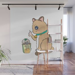 Instant meal Wall Mural