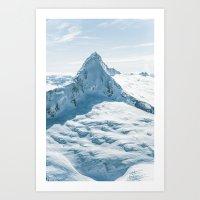 Majestic Mt. Aspiring (Tititea) Art Print