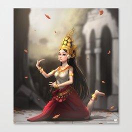 Apsara Dancer Canvas Print