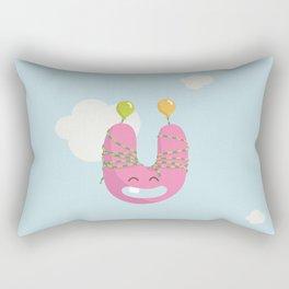 letter U Rectangular Pillow