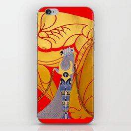 "Art Deco Design ""Samson & Delilah"" iPhone Skin"
