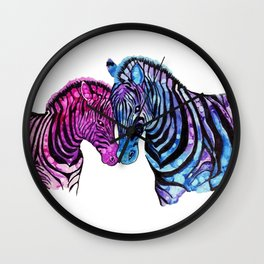 Colors Of Love Wall Clock