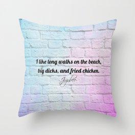 Drag queens | Drag | Juju | Bee | Ru | Paul | Trans | Pan | Drag queen quotes Throw Pillow