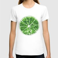 lime T-shirts featuring Lime by Kcin