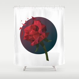 Rose for Someone Shower Curtain