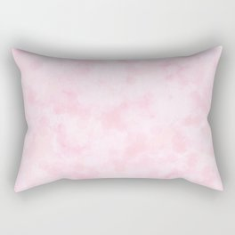 Strawberry Champagne Bubbles - Pale Pink Rectangular Pillow