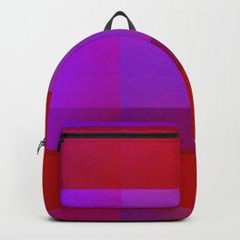 Gradient Plaid Backpack