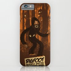 Bigfoot spotted on… Slim Case iPhone 6s