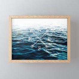Winds of the Sea Framed Mini Art Print