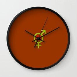 Symbol of Transgender 49 Wall Clock