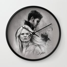 We Can Be Heroes Wall Clock