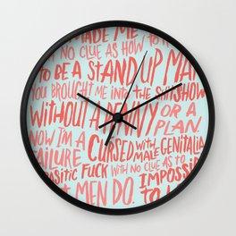 MENOMENA Wall Clock