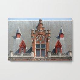 Bruges 3 Metal Print
