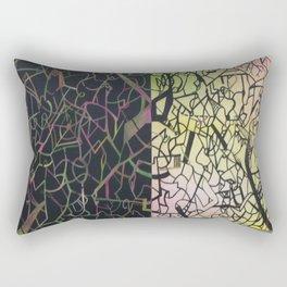 Chaotic Compulsion  Rectangular Pillow