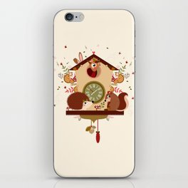Coucou sauvage iPhone Skin