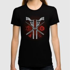 Perdition (Demon Hunter's Variant) Womens Fitted Tee Black X-LARGE