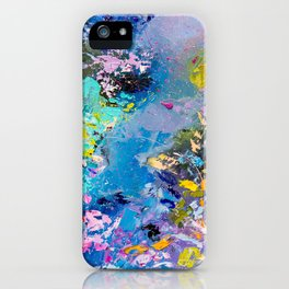 Strangers in space iPhone Case