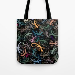 Leaping Lizards Tote Bag