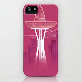 Seattle Sombre iPhone Case