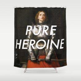 Heroine of Arc Shower Curtain