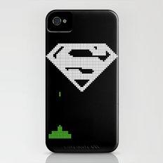 Super Invader iPhone (4, 4s) Slim Case