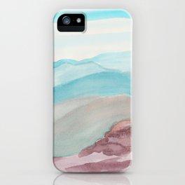 mountain climbing iPhone Case