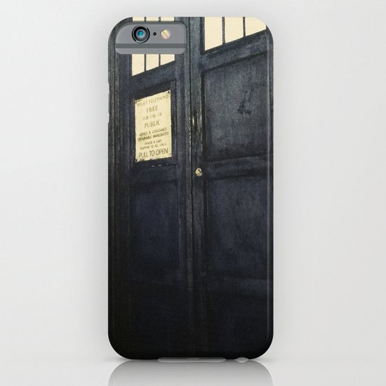 Doctor Who: Time and Relative Dimension in Space iPhone & iPod Case