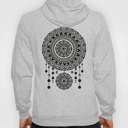 Mandala Dream Catcher (Black & White) Hoody