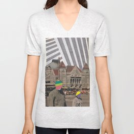 travel weary Unisex V-Neck