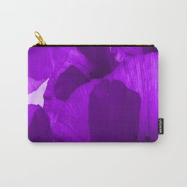 Ultra Violet Poppies #decor #society6 #buyart Carry-All Pouch