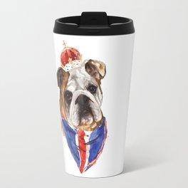 British Bulldog Travel Mug