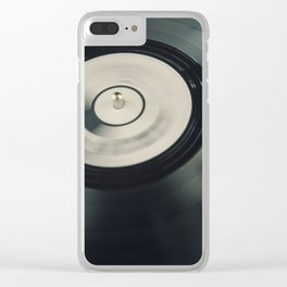 Needle on the Record Clear iPhone Case