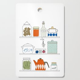 Scandinavian Pantry Cutting Board