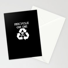 Recycle White Stationery Cards