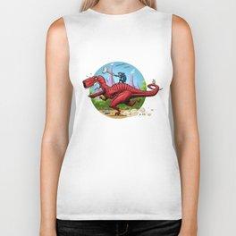 Devil Dinosaur and Moon Boy Biker Tank