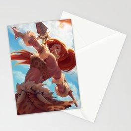 Leopard Nidalee League Of Legends Stationery Cards