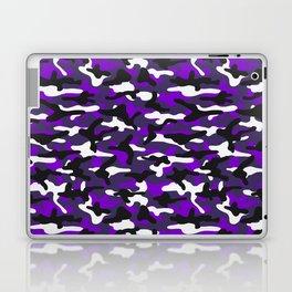 Purple Squad Camouflage Laptop & iPad Skin