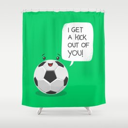 Tough Love! Shower Curtain