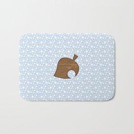 Animal Crossing Winter Leaf Bath Mat